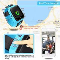 Jam tangan anak /smart watch anak Q9 Layar Sentuh 1.44 INci - Biru