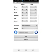 Controller Jadwal Sholat ALMIRA FULL Color (RGB) Android +Mp3