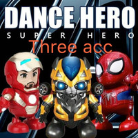 Avengers Ironman Super Hero Smart Dance Robot With Music and LED Light - SPIDERMAN ROBOT
