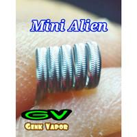 Mini Alien Fused Clapton Coil 30*3+38 Based Ni80 Nichrome 80 Sandvik