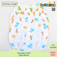 Celana Bayi / Celana Pop ShankusenTupai (Squirrel) 3pcs