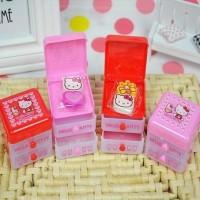 Penghapus Hello Kitty Mini Laci Container