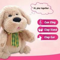 Kado Mainan Anak Boneka Puppy Clap / Mainan Boneka Anjing Puppy Clap