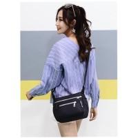 Waterproof Nylon Shoulder Bag Tas Selempang Wanita Import CS-608