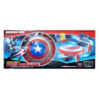 mainan anak tembakan/ tameng water bombs gun captain amerika