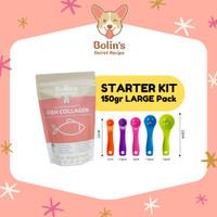 150gr STARTER KIT/ Bolin's Secret Recipe/ Vit Collagen Anjing Kucing