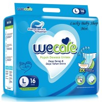 WeCare Adult Diapers Size L 16