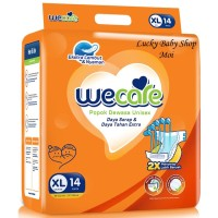 WECARE ADULT DIAPERS SIZE XL 14