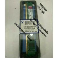 RAM PC DDR3 1GB PC3 12800 1600MHZ CL11 KINGSTON BARU.BERGARANSI