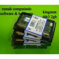 RAM LAPTOP DDR3 2GB PC3 12800 1600MHZ CL11 KINGSTON BARU.BERGARANSI