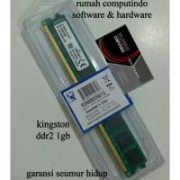 RAM PC DDR2 1GB PC2 6400 800MHZ CL5 KINGSTON BARU.BERGARANSI