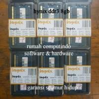 RAM LAPTOP DDR3 8GB PC3 12800 1600MHZ CL11 HYNIX BARU.BERGARANSI