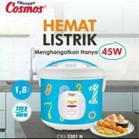 Cosmos CRJ-3301 N Rice Cooker Magic Com 1.8L - Penanak Nasi CRJ 3301 N