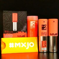 MXJO 18650 3000mAh 35A Authentic batre vape mxjo type2 for box mod