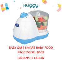Baby Safe Smart Baby Food Processor / BLENDER MAKANAN BAYI LB609 - Tanpa Bubble
