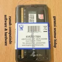 RAM LAPTOP DDR4 4GB PC4 19200 2400MHZ CL17 KINGSTON.BERGARANSI