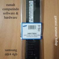 RAM PC DDR4 4GB PC4 19200 2400MHZ CL17 SAMSUNG.BERGARANSI