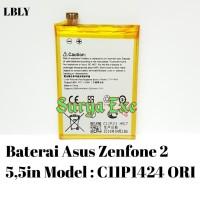 "Baterai Asus Zenfone 2 5,5in / 5.5"" Model C11P1424 Batrai Tanam ORI"