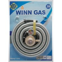 WINN GAS WINNGAS SELANG GAS REGULATOR METAL KOMPOR W28 W 28 SNI