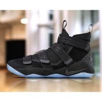 Sepatu Basket Nike Lebron James Soldier 11 Black Premium Original
