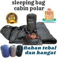 PROMO Sleeping Bag SB Cabin Polar Bahan Lebih Tebal Lebih Hangat Nyama