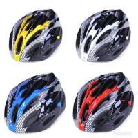 Helm Sepeda EPS Foam PVC Shell - X / Bike Helmet - Merah Hitam