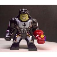 Hulk Gauntlet Avengers Super Hero Marvel Big Minifigure Not Lego