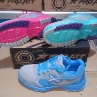 Ternama Sepatu Olahraga Anak Perempuan Pro Att 458 Original - 34, Abu