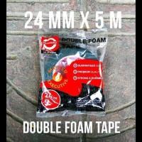 Double Tape Busa Daimaru 24 Mm / 1 Inch 6 Meter Daimaru Merah