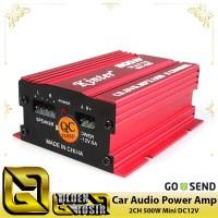 ☑️ Kinter Amplifier Speaker 2 channel 500W MA150 Power Amplifier