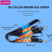 Tali ID Card Printing 2 cm / Tali Lanyard / Tali Printing Tissue