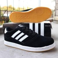 Sepatu Adidas Neo Joging Hitam Cowok