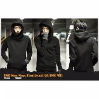 sweater anime ninja finger black