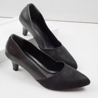 Guzzini MN 532 - Hitam Sepatu Heels Casual