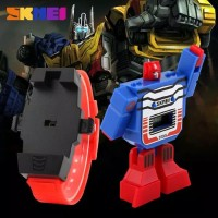 Jam Tangan Anak Anak Cowok Skmei Original / Robot / Transformers
