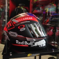 Helm INK CL MAX Repaint water Decal Shoei Marc marquez 93