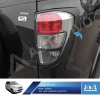 JSL Garnis Lampu Belakang New Rush/Terios Tail Lamp Garnish Black