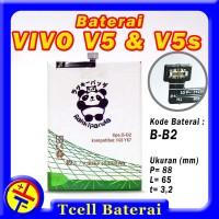 Baterai VIVO V5 V5s B-B2 Rakkipanda batre batere batrai batrei