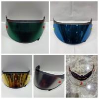 paket flat visor + tear off + post + spoiler pnp kyt k2r kyt k2 rider