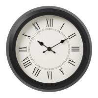 IKNuffra Jam Dinding Angka Romawi Dekorasi Minimalis 25Cm Wall Clock