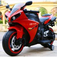 Mainan Anak Motoran Charge/ Aki GP R1