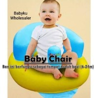 baby sofa angin baby grow / baby bath chair / kursi duduk bayi