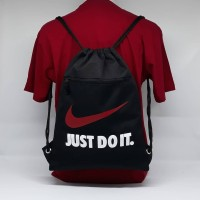 Tas Serut - String bag - Tas Sepatu Futsal - Nike Just Do It- GS08