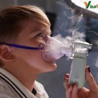 Mesh Nebulizer / Ultrasonic Nebulizer Portable , Ringan, Vikaneb