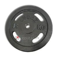 Plat 15Kg Beban Barbel Dumbell Plate Barbell Dumbel 15 kg LUDOZ