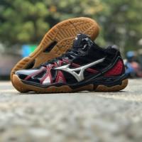 Sepatu Mizuno Wave Tornado 9 Volly Ball Premium Import Ukuran Besar 45
