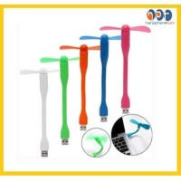 Kipas Angin Usb Mini 2 Baling Flexibel / USB Fan Portable