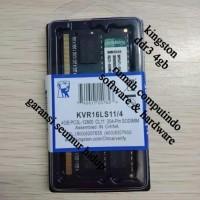 RAM LAPTOP DDR3 4GB PC3 12800 1600MHZ CL11 KINGSTON.BERGARANSI