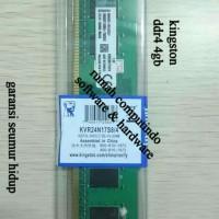 RAM PC DDR4 4GB PC4 19200 2400MHZ CL17 KINGSTON.BERGARANSI