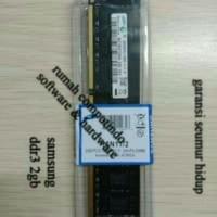 RAM PC DDR3 2GB PC3 12800 1600MHZ CL11 SAMSUNG.BERGARANSI